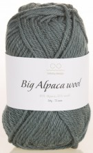 Пряжа Infinity Design BIG ALPACA WOOL 7572 серо-зеленый