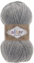 Пряжа Alize ALPACA ROYAL 21 св.серый